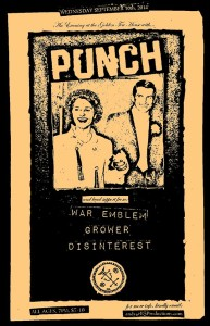 punch flyer