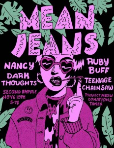 mean jeans flyer